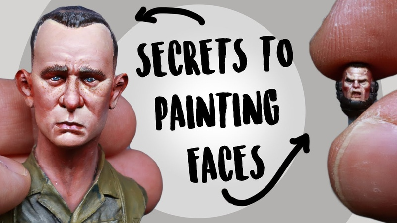 Secrets to Painting Faces on miniatures Revealed