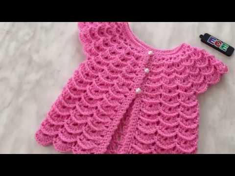 Tığ İşi Prenses Yeleği nasıl örülür 3 D crocheted princess cardigan vest