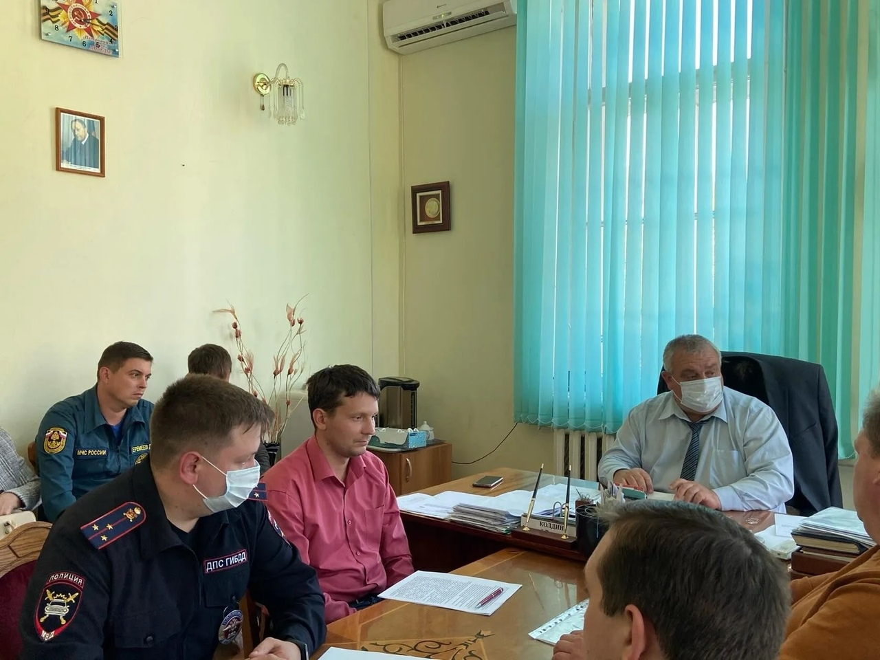 Вчера в администрации Петровского района состоялось заседание муниципальной комиссии по безопасности дорожного движения