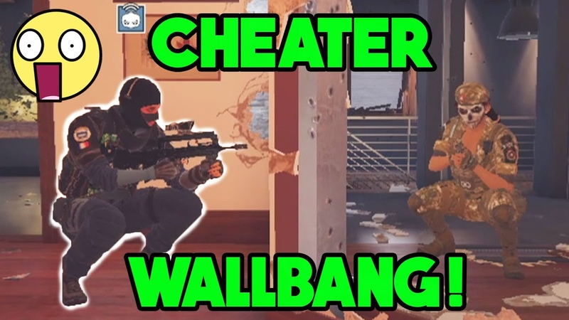This Wallbang Will Get You Banned Rainbow Six Siege Gameplay