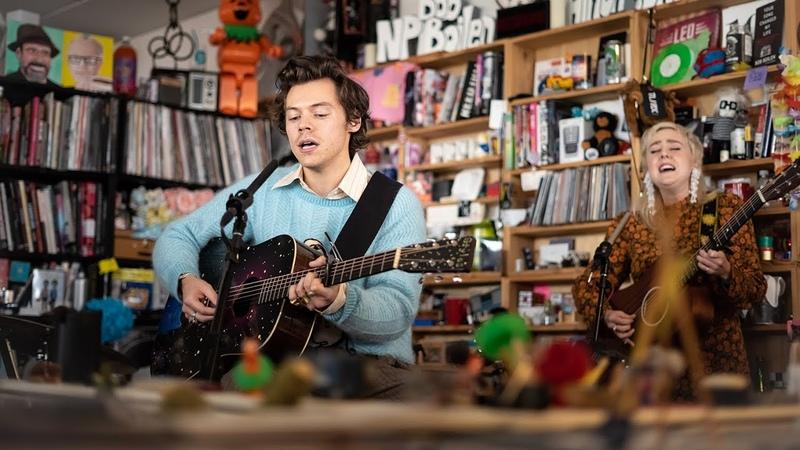 Harry Styles: NPR Music Tiny Desk Concert