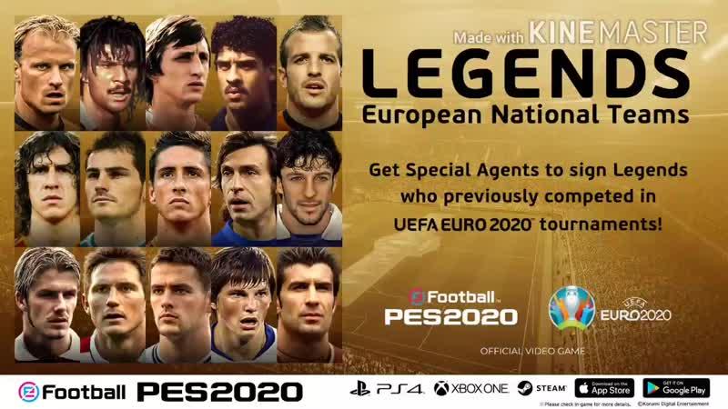 LEGENDS European National Teams