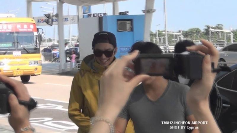 '130812 Lee Min Ho 이민호 Incheon Airport
