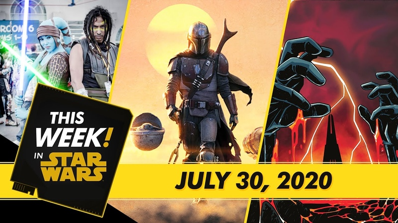 Emmy news Casting for Tales From the Galaxy's Edge A Comic Con@Home Recap and More