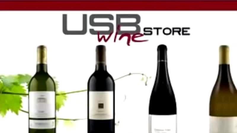 USB Wine Скачивайте вино онлайн
