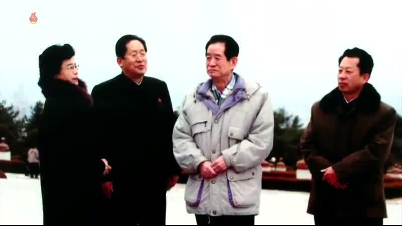 영생하는 우리 당의 혁명전우들 당중앙위원회 제1부부장이였던 리제강