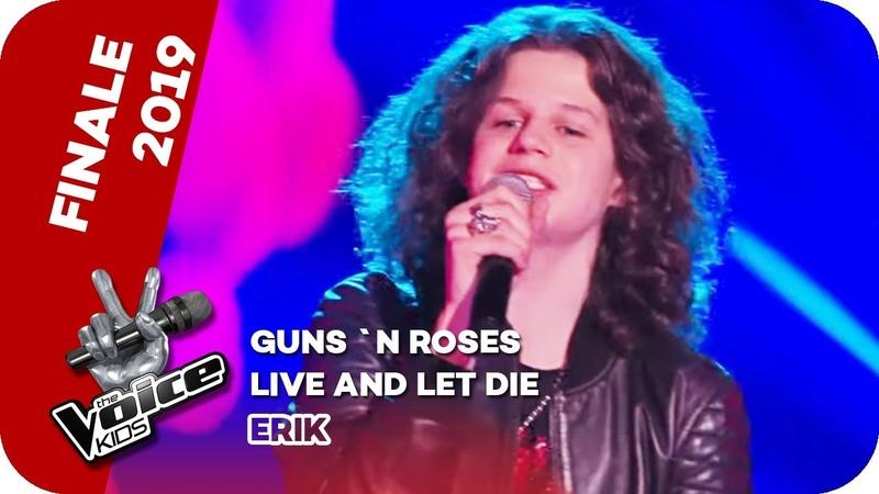 Guns N' Roses Live And Let Die Erik Finale The Voice Kids 2019 SAT 1
