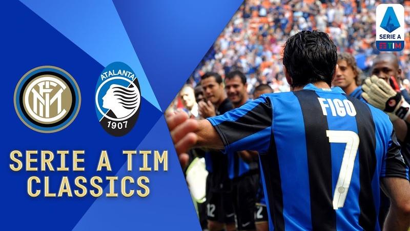 Inter v Atalanta (2009) | Figo, Ibrahimovic and Balotelli Star! | Serie A TIM Classics | Serie A TIM