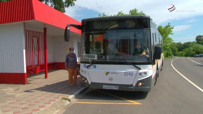 20 новых автобусов поступило в филиал Мострансавто в Серпухове