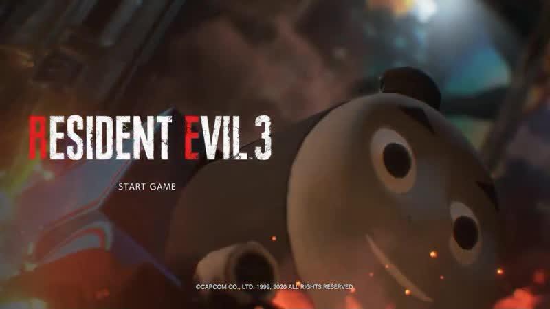 Resident Evil 3 Remake Паравозик Томас