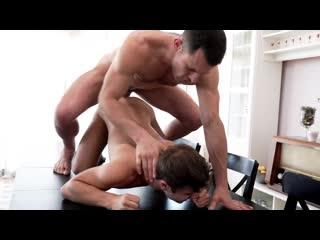 "Allen King rides James Castle's thick dick bareback in ""Butt Fucked Hardcore"""