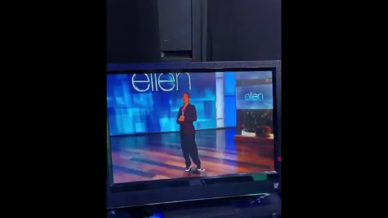 First impression Entrance The Ellen Show Press tour day5 is over