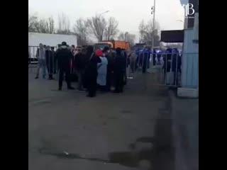 Что творится на границе Алматы.mp4