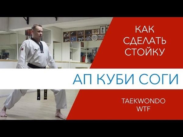 Стойка Ап Куби Соги Taekwondo WTF
