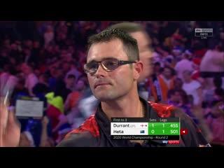 Glen Durrant vs Damon Heta (PDC World Darts Championship 2020 / Round 2)