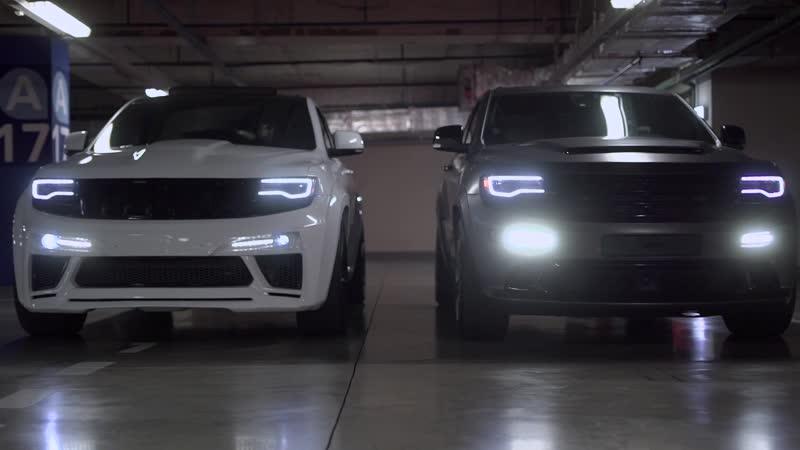 Промо ролик для Jeep SRT8 больше 1200лс на двоих