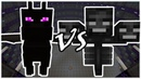 Ender Dragon vs Wither Minecraft Mob Battle
