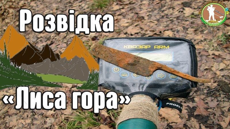 НОВЕ МІСЦЕ ПОРАДУВАЛО. РОЗВІДКА. Коп в лісі з металошукачем Квазар АРМ. Пошук артефактів в Україні