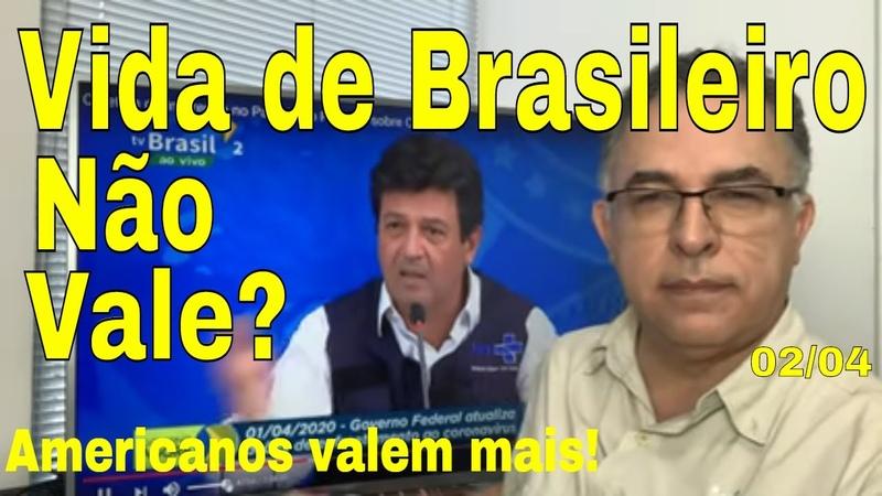 Governo Bolsonaro Vida de brasileiro não vale Brasil tapeado Russia China e Cuba socorrem mundo