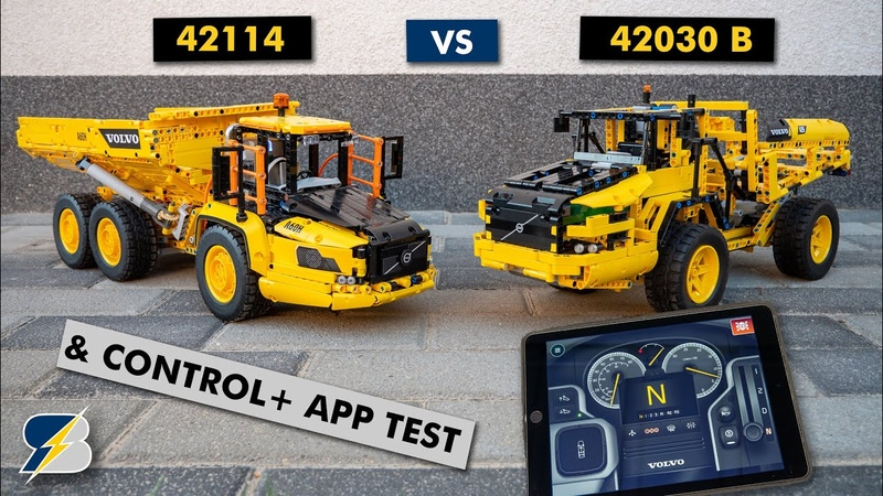Battle of the Haulers LEGO Technic 42114 vs 42030 B model Control app test