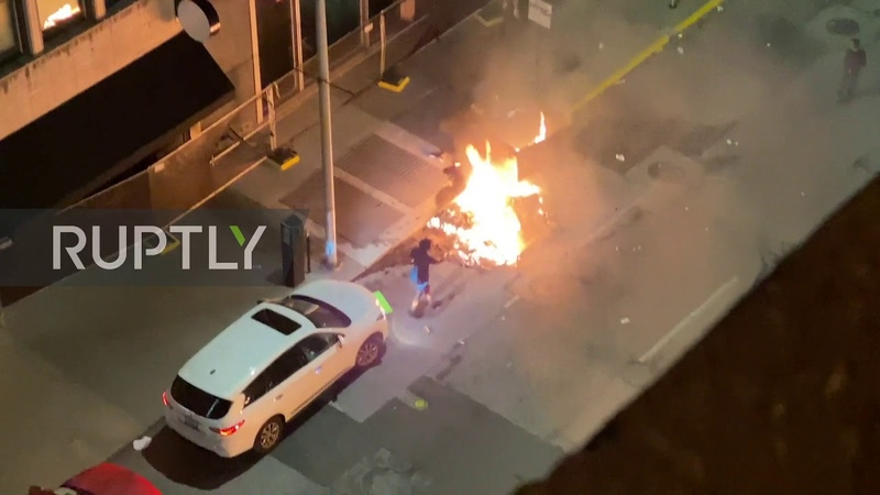 USA: Two people killed during protest over George Floyd in Indianapolis