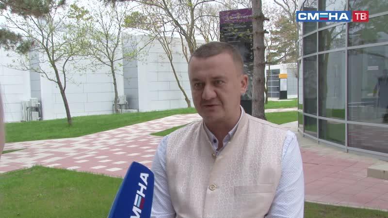 Интервью с главным редактором информационно аналитического портала Ясно в ВДЦ Смена