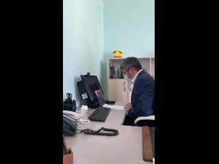 Алексей Цыденов встретился с врачами