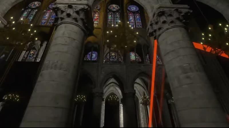 Concert de Jean Michel Jarre dans Notre Dame virtuelle 31 décembre 2020