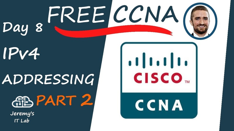 Free CCNA IPv4 Addressing Part 2 Day 8 Complete Course