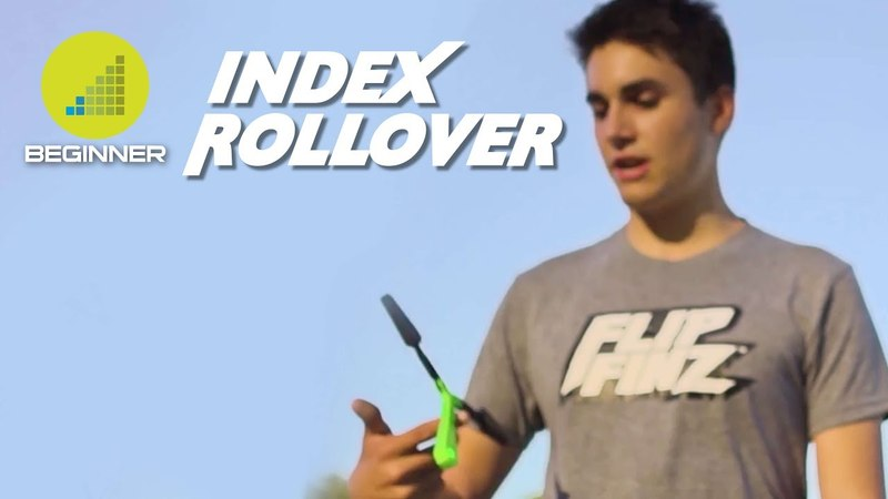 Flip Finz | Beginner Tutorial - Index Rollover
