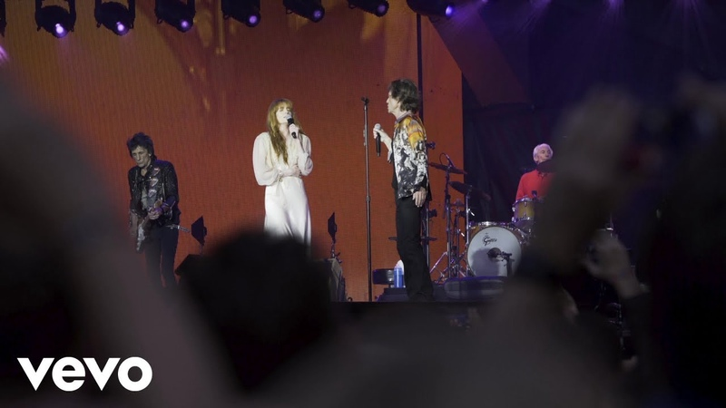 The Rolling Stones Wild Horses Live At London Stadium 22 5 18 ft Florence Welch