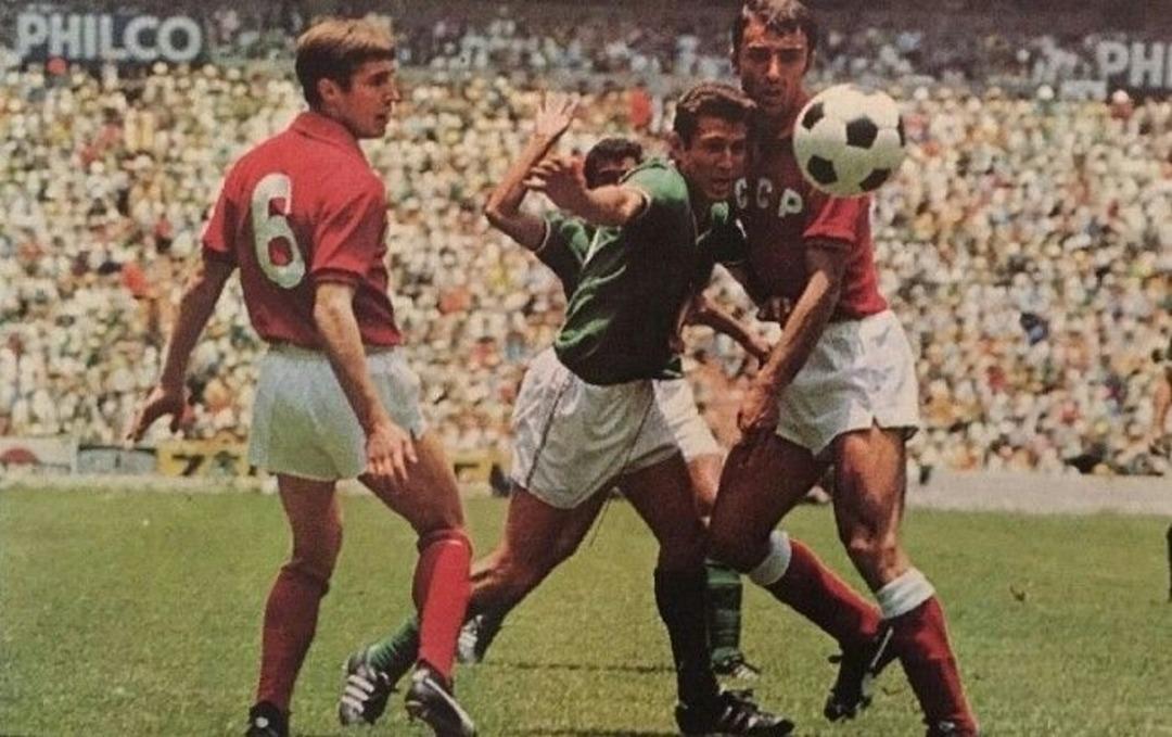 Мексика - СССР. Чемпионат мира 1970