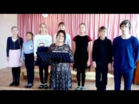 Поздравление от детского хора «Соловушка» из с. Рощино