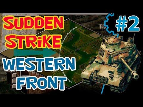 Стратегия в реальном времени Sudden Strike 2 прохождение | мод RWG ToW | Кампания Западный фронт 2