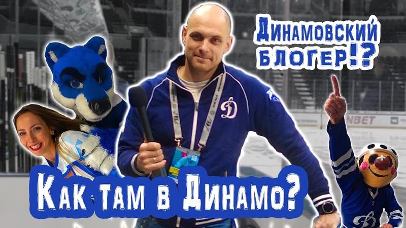 [Reload] Динамовский блогер?! Как попасть в профессиональный хоккей?