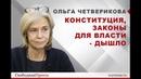 Ольга Четверикова: Конституция, законы для власти - дышло
