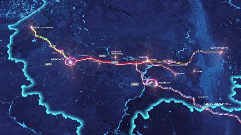 Международный транспортный маршрут Европа Западный Китай