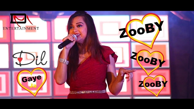 Zooby Zooby Zooby Live performance madhurika ghosh jj college DM Entertainment