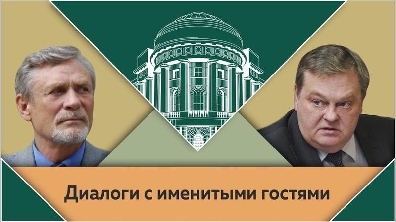 А Я Михайлов и Е Ю Спицын в студии МПГУ Мое кино коллеги и роли