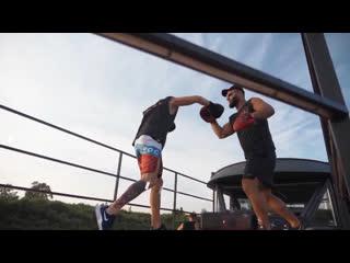 Клип по итогам тренировки по боксу на корабле