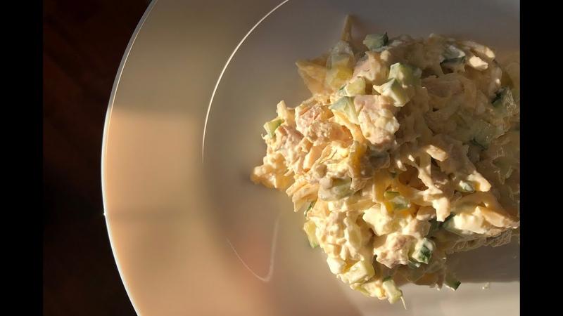Лёгкий салат Понравится каждому Салат безвредный для фигуры