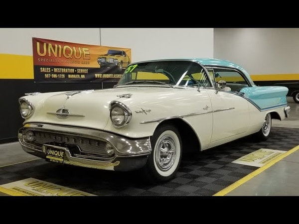 1957 Oldsmobile Starfire 98 Holiday Coupe For Sale
