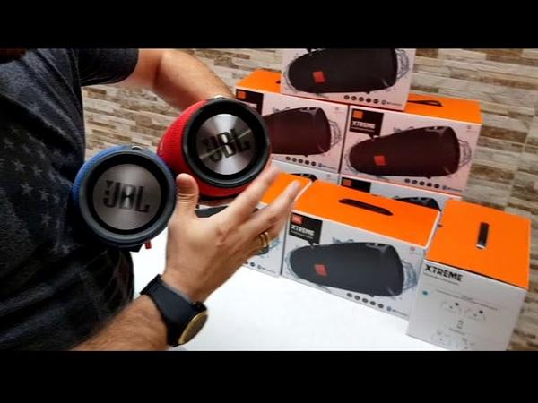 JBL Xtreme REPLICA 1º linha x Xtreme Original Qualidade de SOM