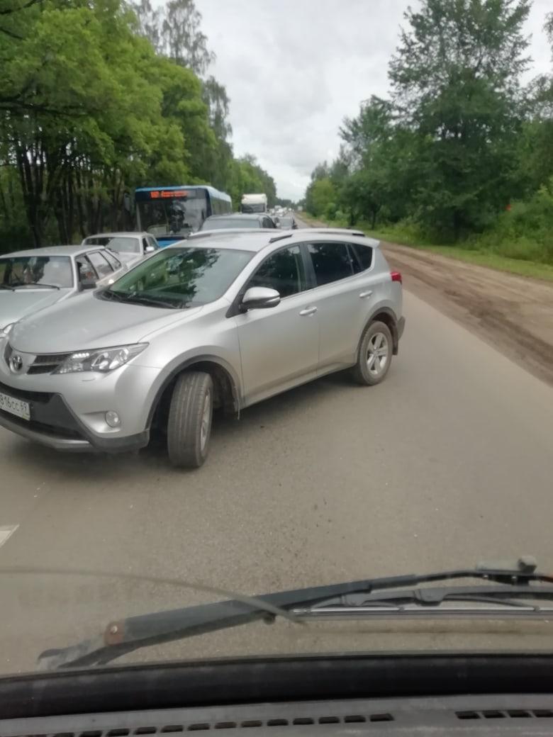 Дорожный апокалипсис: до чего довела людей пробка на въезде в Тверь