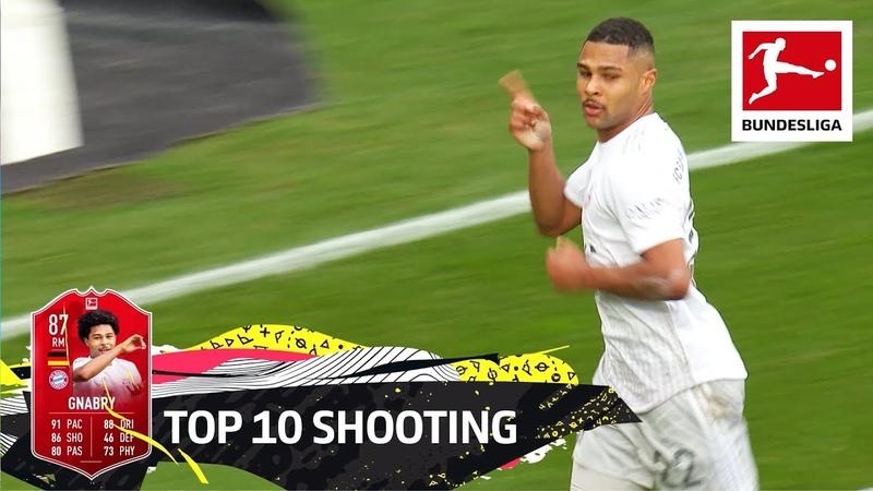 Top 10 Shooting Lewandowski Haaland Werner More EA SPORTS FIFA 20
