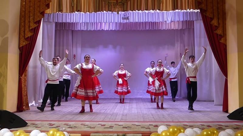 Ансамбль Русского танца Талисман кадрильная пляска У околицы