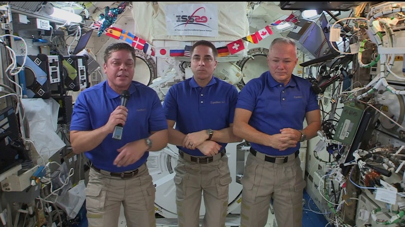 Expedition 63 Inflight with New York Times Fox News and USA Today July 7 2020