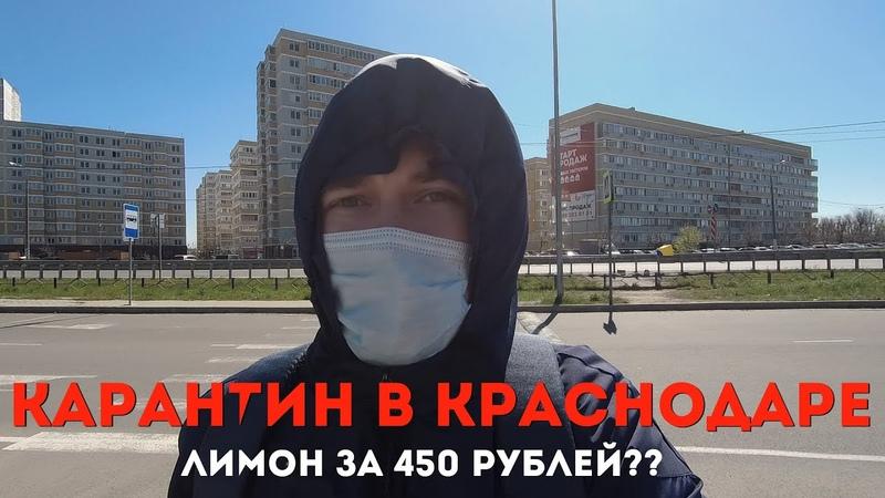 VLOG Карантин в Краснодаре Пустая Лента Лимон за 450 рублей СидимДома