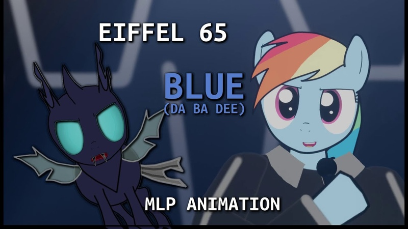 PMV Animation Eiffel 65 Blue Da Ba Dee
