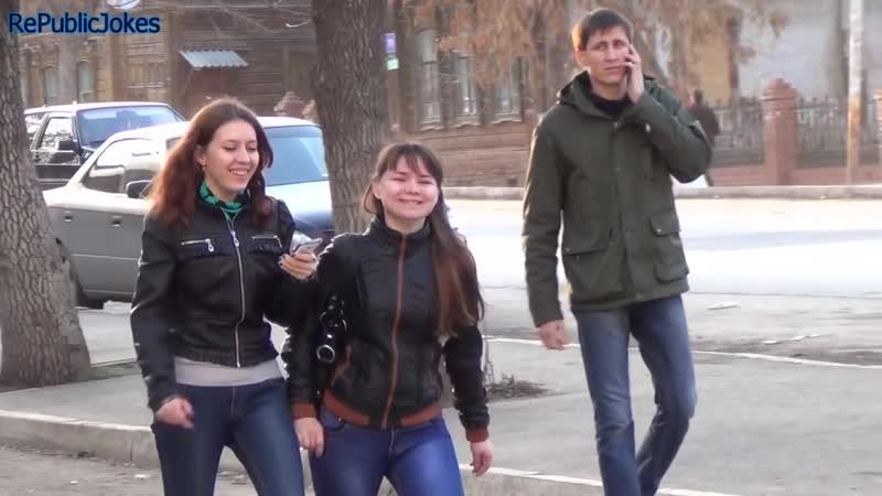 Чесать без стыда Прикол над людьми на улице Rus edition Пранк